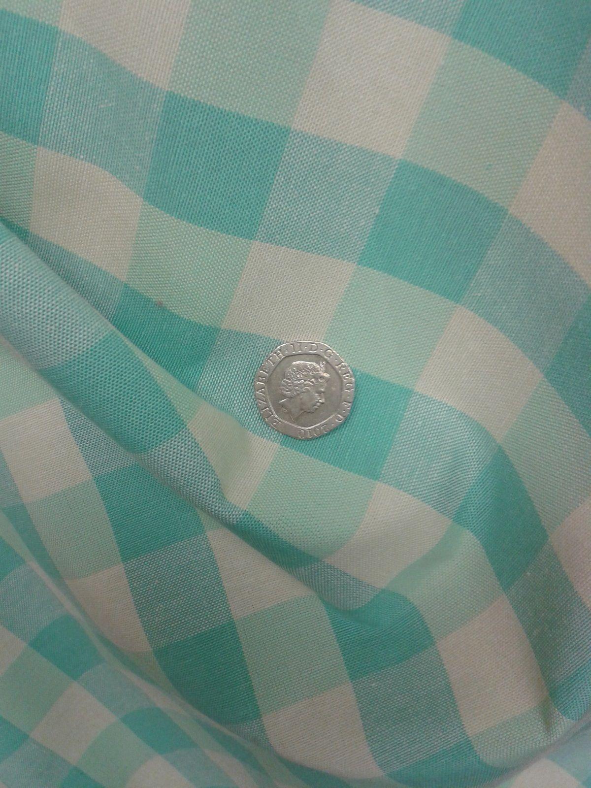 Prestigious Textiles Turquoise Check Curtain Upholstery